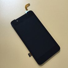 Touch Screen Digitizer Sensor Glass + LCD Display Monitor Screen Panel Module Assembly for HTC Desire 210