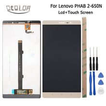 Buy Ocolor Lenovo PHAB 2 PB2-650N LCD Display + Touch Screen Screen Original Digitizer Assembly Android 6.0 +Tools High for $50.32 in AliExpress store