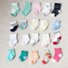 Cartoon Unisex Newborn Anti Slip Baby Girls/ Boys Cotton Toddler Boat Socks Spring Fall Socks