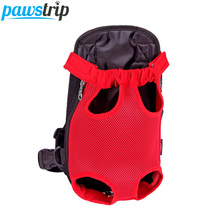 6 Colors Fashion Pet Carrier Dog Backpack Chest Bag Durable Canvas Outdoor Puppy Cat Travel Bag S/M/L