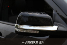 Bright Style! Exterior For Ford Explorer 2011 - 2017 Door Side Rearview Mirror Strip Cover Trim 2 Pcs(China)