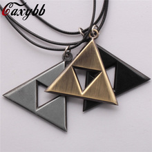 Buy New 2016 Men Jewelry Leather necklace Game Legend Zelda necklaces Boy Gift Cosplay Zelda Movie Necklace Bijoux for $1.09 in AliExpress store