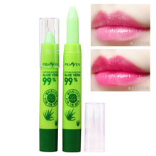 Brand Beauty Moisturizer Aloe Vera Gel Lipsticks Mouth Care Magic Temperature Changing Color Long-lasting Nutrious Lipstick Pen