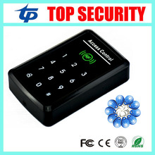 Single Door RFID Access Controller With Keypad Standalone Security Access Control System 125Khz Keypad 125KHZ Smart Card Reader(China)