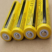 DING LI SHI JIA 10pcs 18650 3.7v 9900 High capacity mah rechargeable lithium battery flashlight batteries