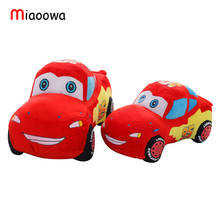 "1 PC 10"" 25cm Movie Cars Pixar Original Plush Toys Cars Model Stuffed Plush Toy Reborn Baby Favorite Car dolls Toy"
