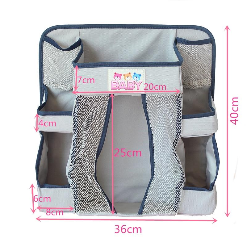 Baby-Crib-Children-s-Bed-Hanging-Bag-Portable-Waterproof-Diapers-Bedside-Organizer-Bed-Bumper-Cradle-bag