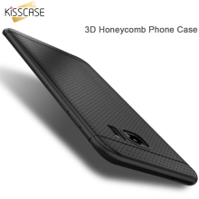 KISSCASE Candy Color Soft Silicon Case For LG G3 D855 G4 G3 Case Honeycomb Dot TPU Cover For iPhone 7 6 Samsung Galaxy S8 S8+ S7