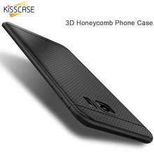 KISSCASE Candy Color Soft Silicon Case For LG G3 D855 G4 G3 Case Honeycomb Dot TPU Cover For iPhone 7 6 Samsung Galaxy S8 S8+ S7(China)