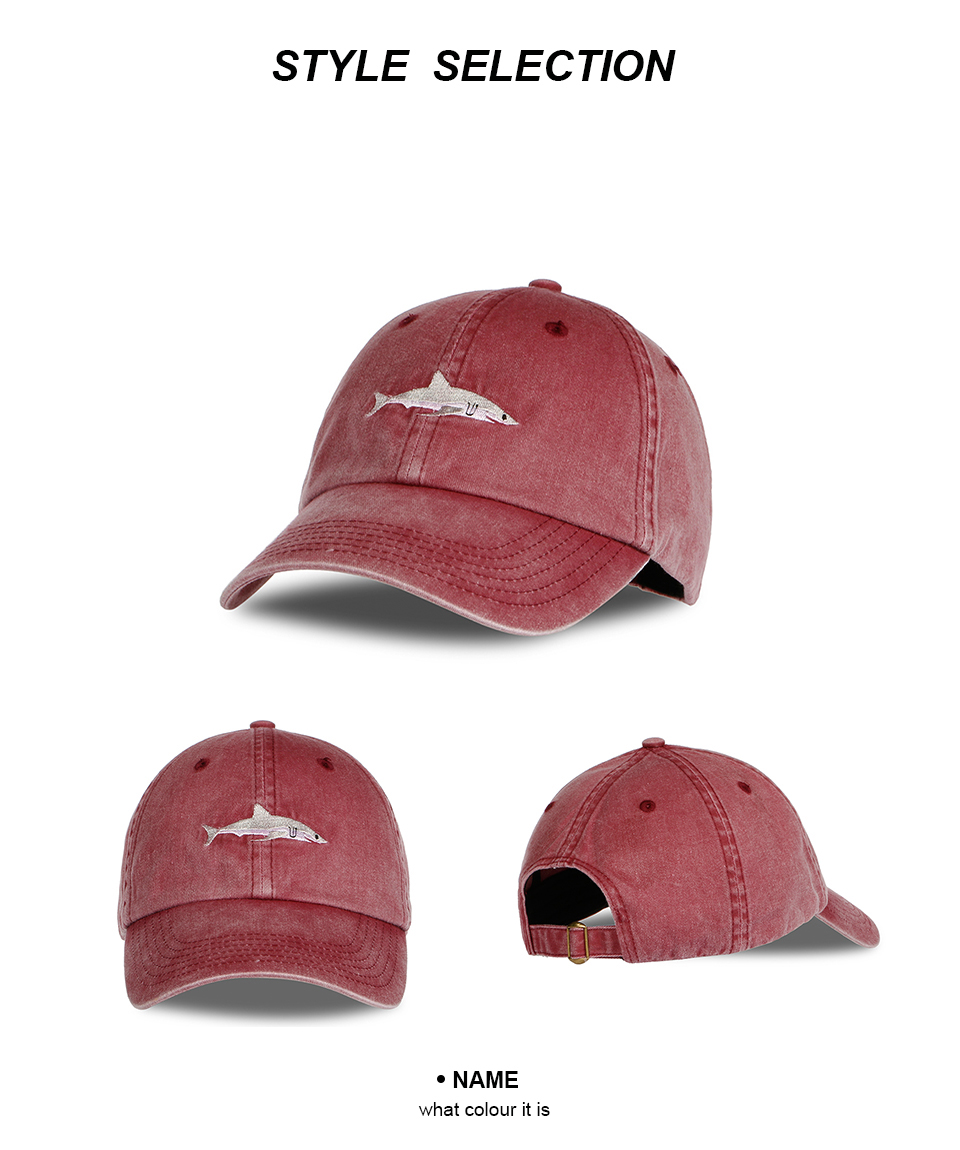 "Shark Cap"" Shark Snapback Cap for Men/Women 3"