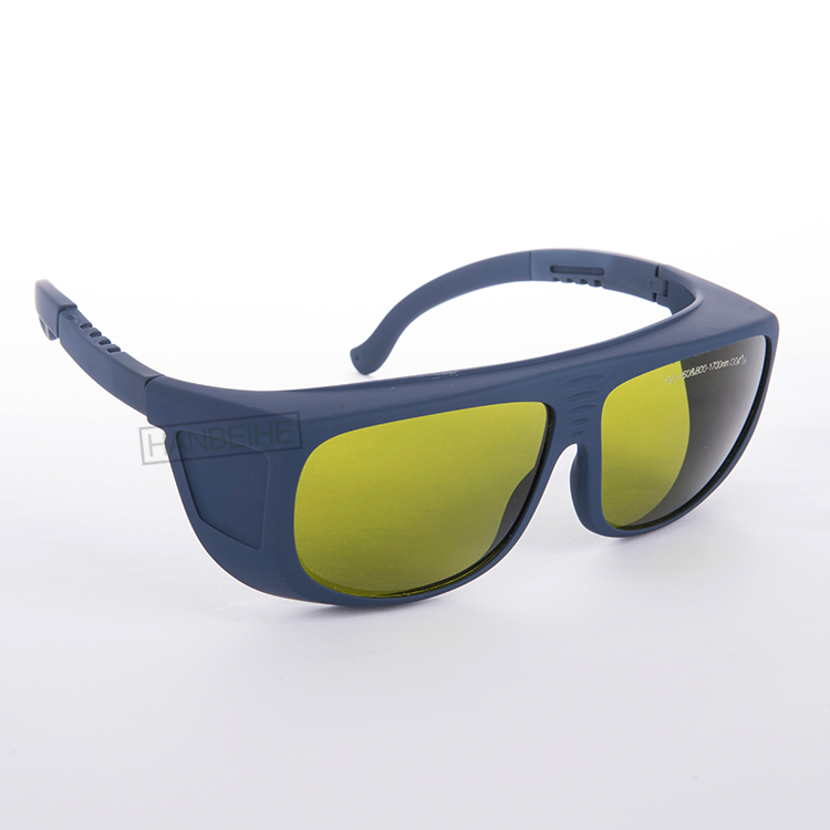 LSG-5 laser safety eyewear for 190-450nm and 800-1700nm 808 810 830 850 980 diode laser and 1064nm 1070 1320 1470nm <br>