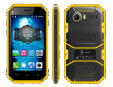 original Kenxinda W6 Rugged Android 5.1 Smartphone IP68 Waterproof phone Shockproof 4G LTE ultra slim Mobile phone Quad Core GPS(China)