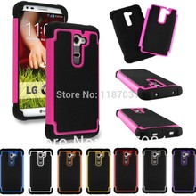 Buy New Fashion armor Shockproof Silicone Rubber Hybird Case Cover LG G2 D800 D801 D802 D803 LS980 for $3.04 in AliExpress store