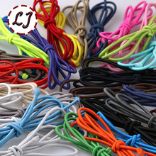 36 colors choice 2.5mm elastic Stretch Cord 6yd/lot high quality Cord String Strap Rope for home Garment accessory handmade DIY(China)