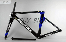 The cool 2016 new model carbon road bike frame  from S1 to S7 road cycling  frame BSA/BB30,cube frame and fixie
