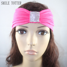 New design cotton crystal headband exercise Yoga special hair band turban bandana head wrap hair accessories for women