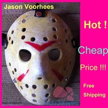 Black Friday Jason Voorhees Freddy hockey Festival Party Full Face Old Mask Yellow 100gram PVC For Halloween Masks 200pcs/lot
