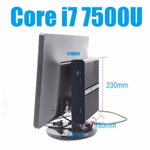 Hot New Intel Core i7 7500U Mini PC Windows 10 Mini Computers 16GB RAM 256GB SSD Minipc Intel NUC i7 Dual LAN 4K HD PC Portable(China)