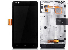 Original Glass LCD Display Panel Touch Screen Digitizer Lens Frame Assembly For Nokia Lumia 900 n900 replacement<br><br>Aliexpress