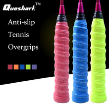 10pcs/lot Anti-slip Breathable Sport Over Grip Sweatband Griffband Tennis Overgrips Tape Badminton Racket Grips Sweatband(China)