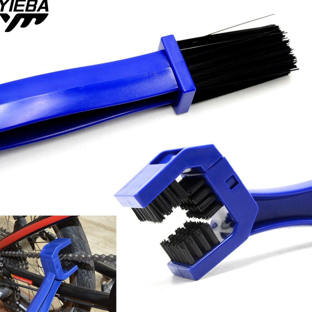 Motorcycle Chain Clean Brush Gear Grunge Brush Cleaner FOR HONDA CR80R/85R CRF125F CRF150R CRF250R 04-06 07-16 YAMAHA YZ80/85