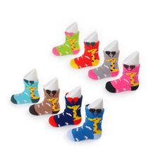 Buy Winter Baby Socks Newborn Warm Set New Year Children's Socks 4 Pairs/Lot Cartoon Cute Cashmere Soft Baby Floor Socks 60Z0196 for $11.05 in AliExpress store