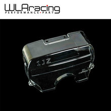 WLRING STORE- NEW racing clear pulley cover/timing belt cover/cam gear cover for TOYOTA SUPRA 1JZ WLR6336