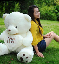 2015 New Gift Stuffed Big Plush Teddy Bear 50cm Soft Gift For Valentine Day Birthday Cute Fashion Animals Toys 50cm