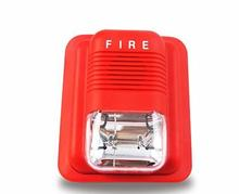 24V Fire Alarm Siren Strob Siren For Fire Alarm System With Sound and Light Flash