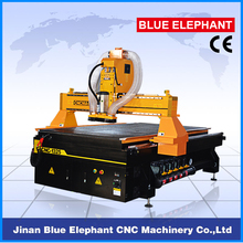 1300*2500mm China Lathe CNC Router Machine Dust Collection System 4*8 Feet CNC Carving Machine with Heavy Duty Frame