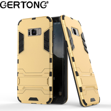 2 in 1 Hybrid Case for Samsung Galaxy S8 Plus S7 S6 Edge Armor Hard PC TPU Fundas Cover For Samsung J5 2015 A3 A5 2016 2017(China)