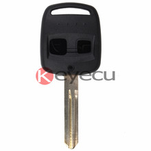 Replacement Shell Remote Key Case 2 Button for Subaru Outback Legacy Forester Uncut NSN14 Blade