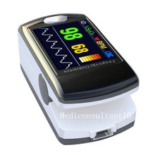 Contec CMS50E Cost Price Color OLED Display Black Fingertip Pulse Oximeter, Blood Oxygen Monitor Free Shipping(China)