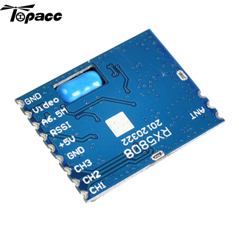 Hot Sale Boscam FPV 5.8G Wireless Audio Video Receiving Module RX5808(China (Mainland))