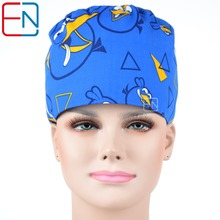 Hennar brand Unisex Medical surgical dentist caps/hats scrub caps/ plastic doctor caps/ pet doctor caps angry birds(China)