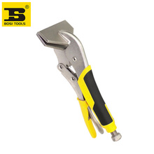 free shipping BOSI 11''/275mm sheet metal clamp vise grip pliers