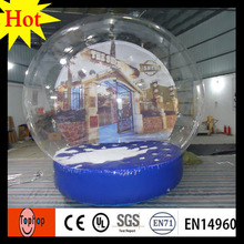 cheap custom snow globe imported switzerland inflatable christmas ornaments dia 4m christmas event show toys