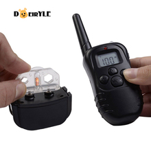 DEIRYLE 300m Remote Control Shock Collar for Dog Training,Pet Trainer Shock Collar,Electronic Dog Training Collars