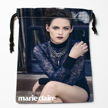 Best Kristen Stewart Drawstring Bags Custom Storage Printed Receive Bag Compression Type Bags Size 18X22cm Storage Bags(China)
