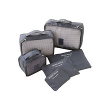 6pcs/set Waterproof Travel Accessories Mens and Womens Portable Polyester Travel Organizer Case
