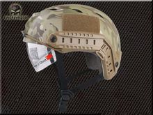 Emerson ABS FAST Helmet with Protective Goggle BJ Type helmet Military airsoft helmet MC EM8818F Safety & Surviva(China)