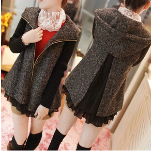 Hot Sale  Autumn and Winter  Pregnant Women Thicken Coat  With Knitting Sleeve Comfortable maternity Coats<br>