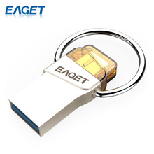 EAGET Original CU66 Type-C USB Flash Drive 16GB Pendrive Mini Portable Storage For Smart Phone For PC For Macbook Storage Stick