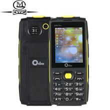 "Oeina XP6 Pro Russian keyboard mobile phone 2.4"" 4 Quad Sim Quad Band GSM Wireless FM MP3 FM Bluetooth flashlight cell phones(China)"