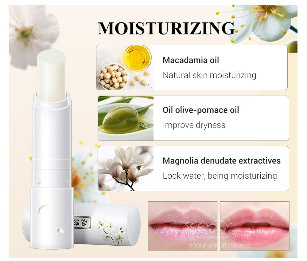 03SOONPURE Hyaluronic Acid Highly Nourishing Lip Balm And Moisturizing Lip Wrinkles Repairing Lipstick Lips Makeup Beauty Lip Care