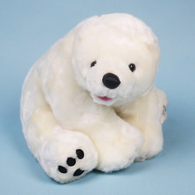 High Quality New Simulation Polar Bear Stuff Animal Plush Toy Doll Children Birthday Gift
