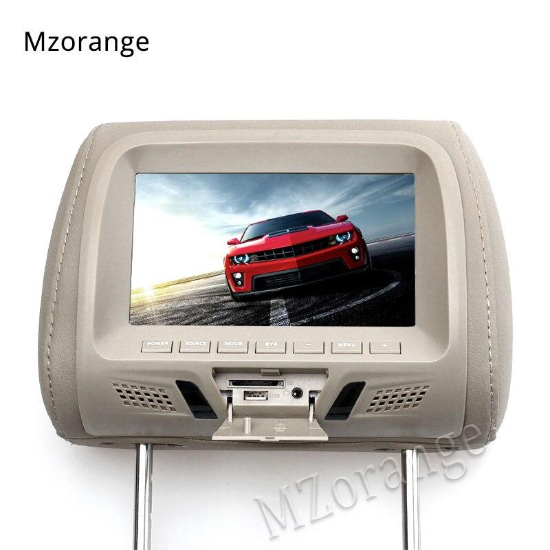 Headrest monitor 6