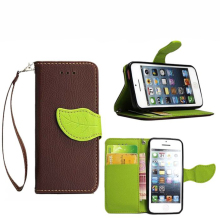 5S SE For iPhone 5S for 5 cases of color Flip Book Style Leather Watchband cover card slot and iPhone 5 6 plus Miami Fashion Cap