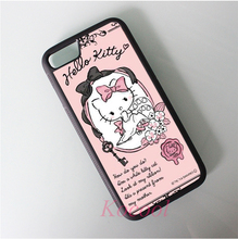 hello kitty sanrio 3 Case cover for iphone 4 4S 5 5S 5C SE 6 6 plus 6s 6s plus 7 7 plus AA456