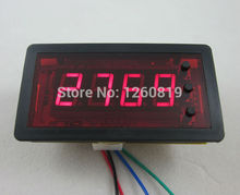 DC 12V 4 Digits Red LED Counter Panel Meter Down with Relay output 9999 to 0000